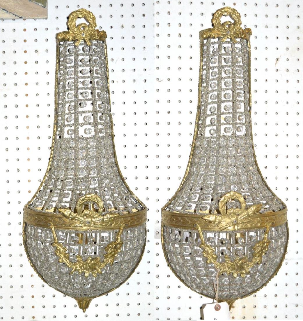 Louis XVI-style wall sconces