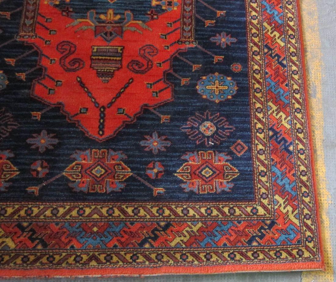 Oriental design woven area rug - 2