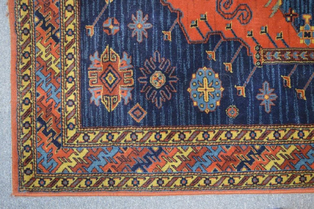 Oriental design woven area rug - 4