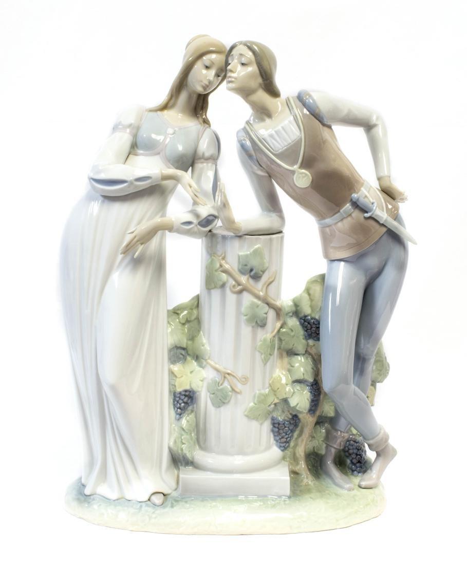 Large vintage Lladró porcelain figurine