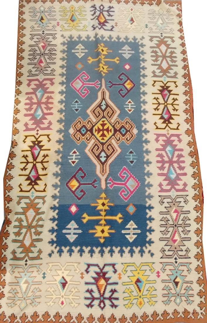 Oriental Kazak-style rug