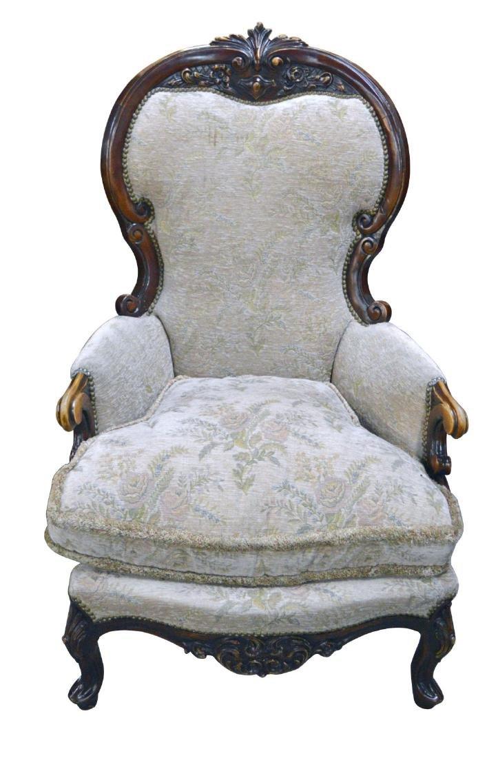 Antique Louis XV-style armchair
