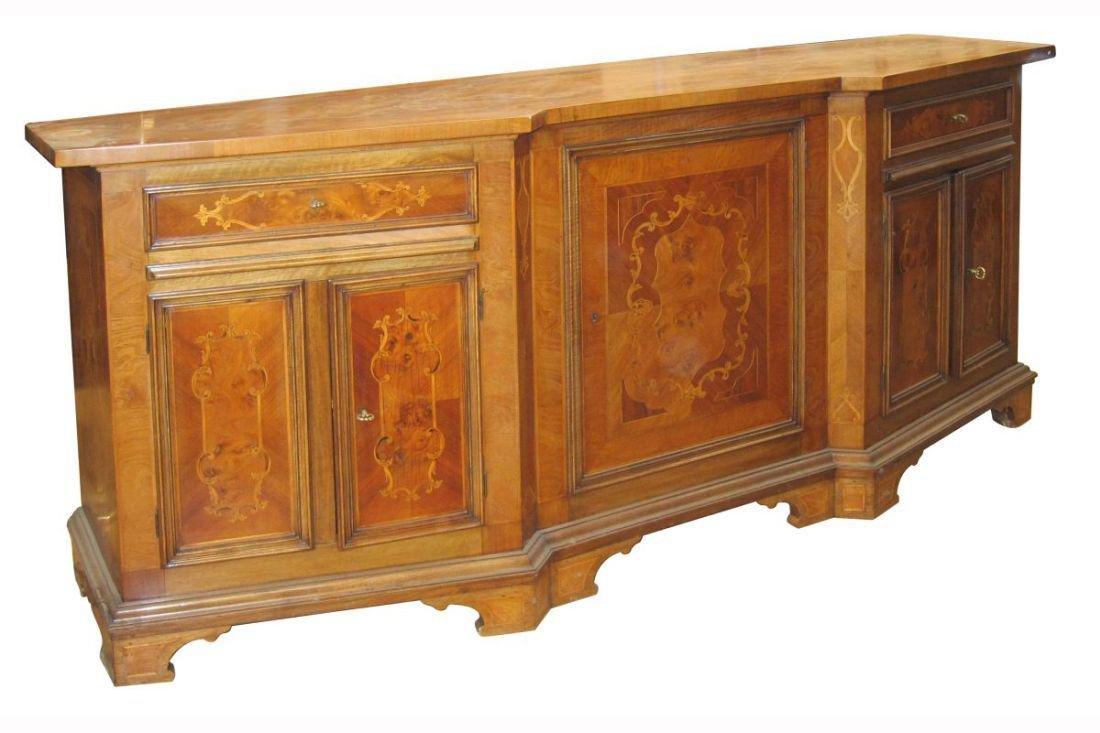 Italian inlaid sideboard