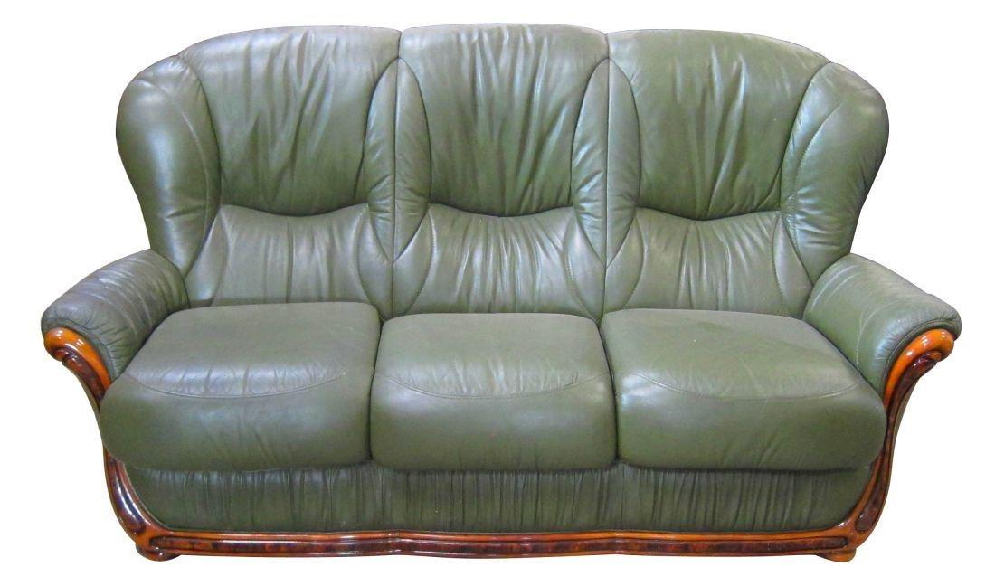 Italian contemporary-design leather sofa