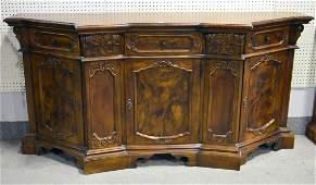 Vintage Italian burlwood sideboard