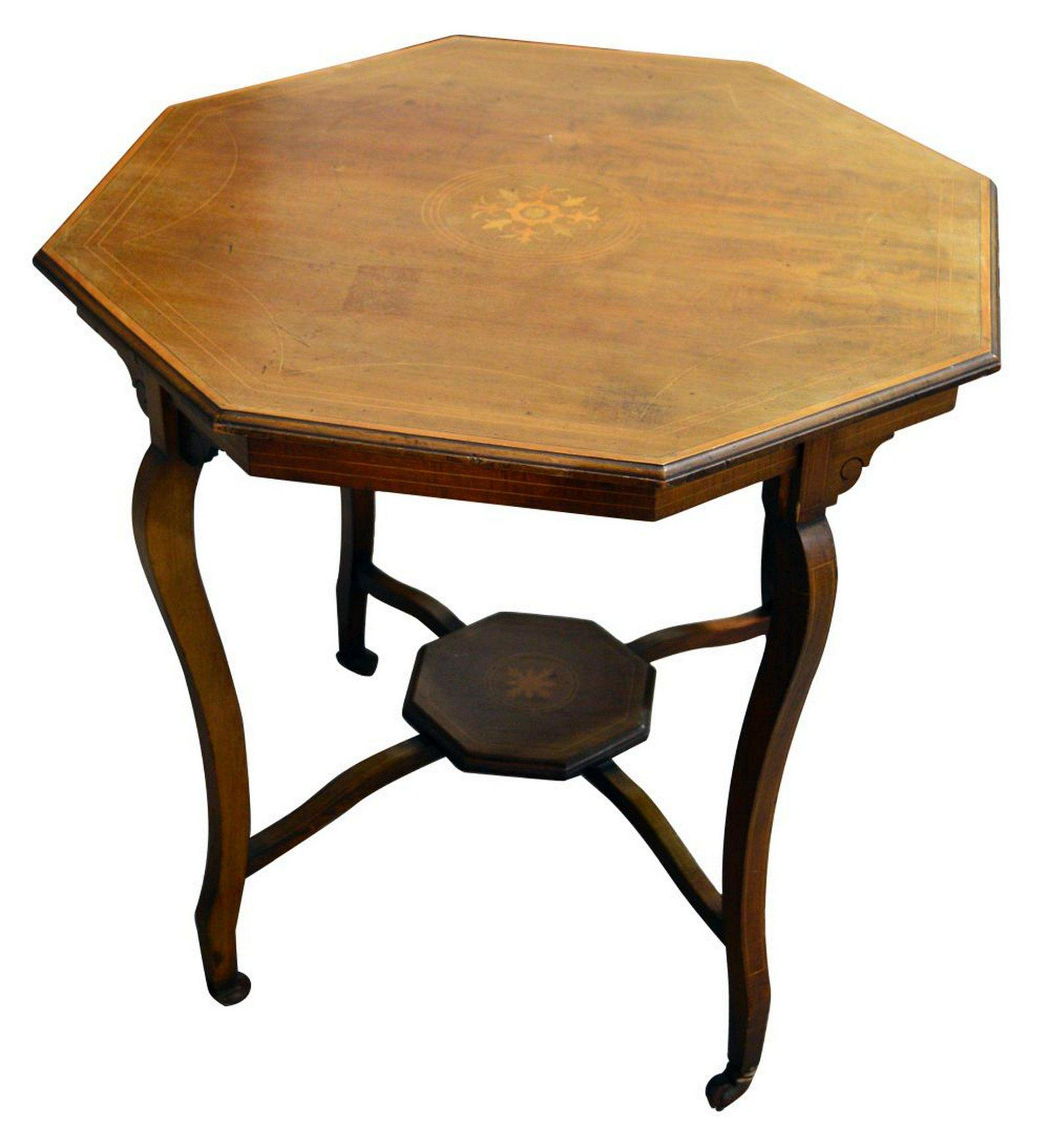 Mahogany Edwardian table
