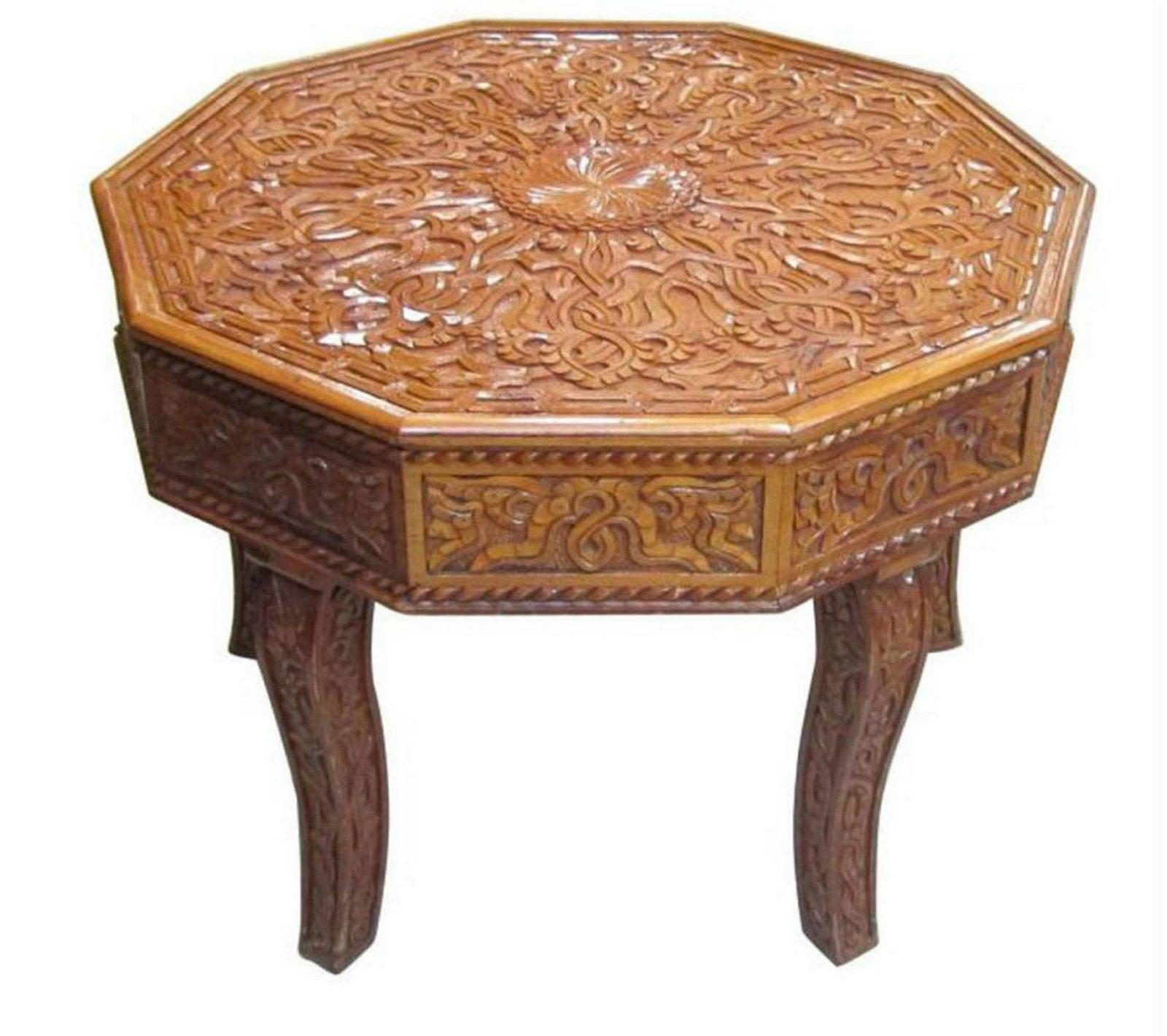 Indian salon table