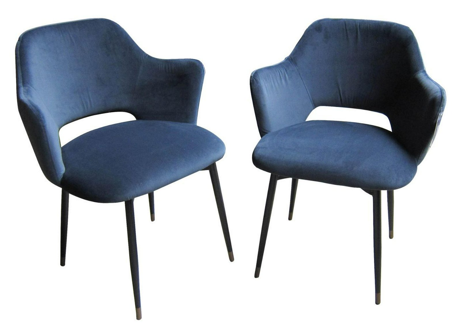 Pair of European-design Modern armchairs