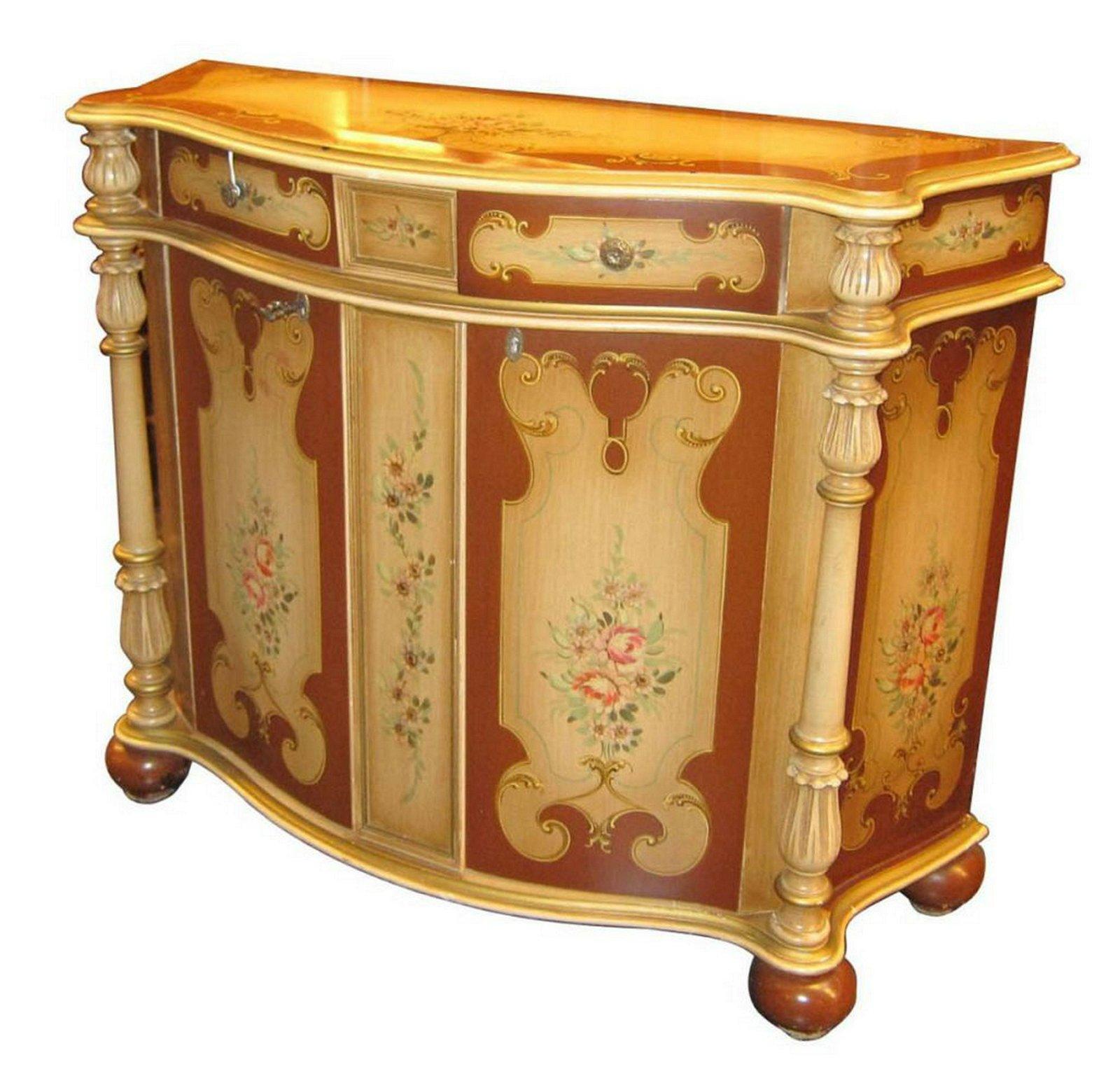 Florentine-style console