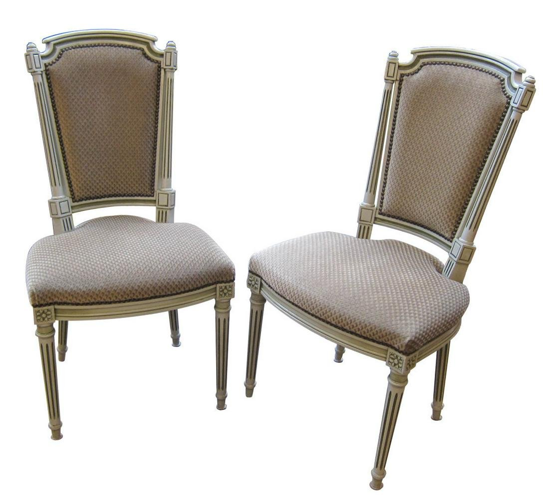 Pair of Louis XVI-style chairs