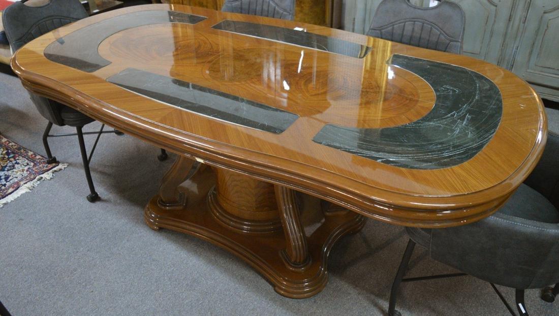 Art Nouveau-style dining table