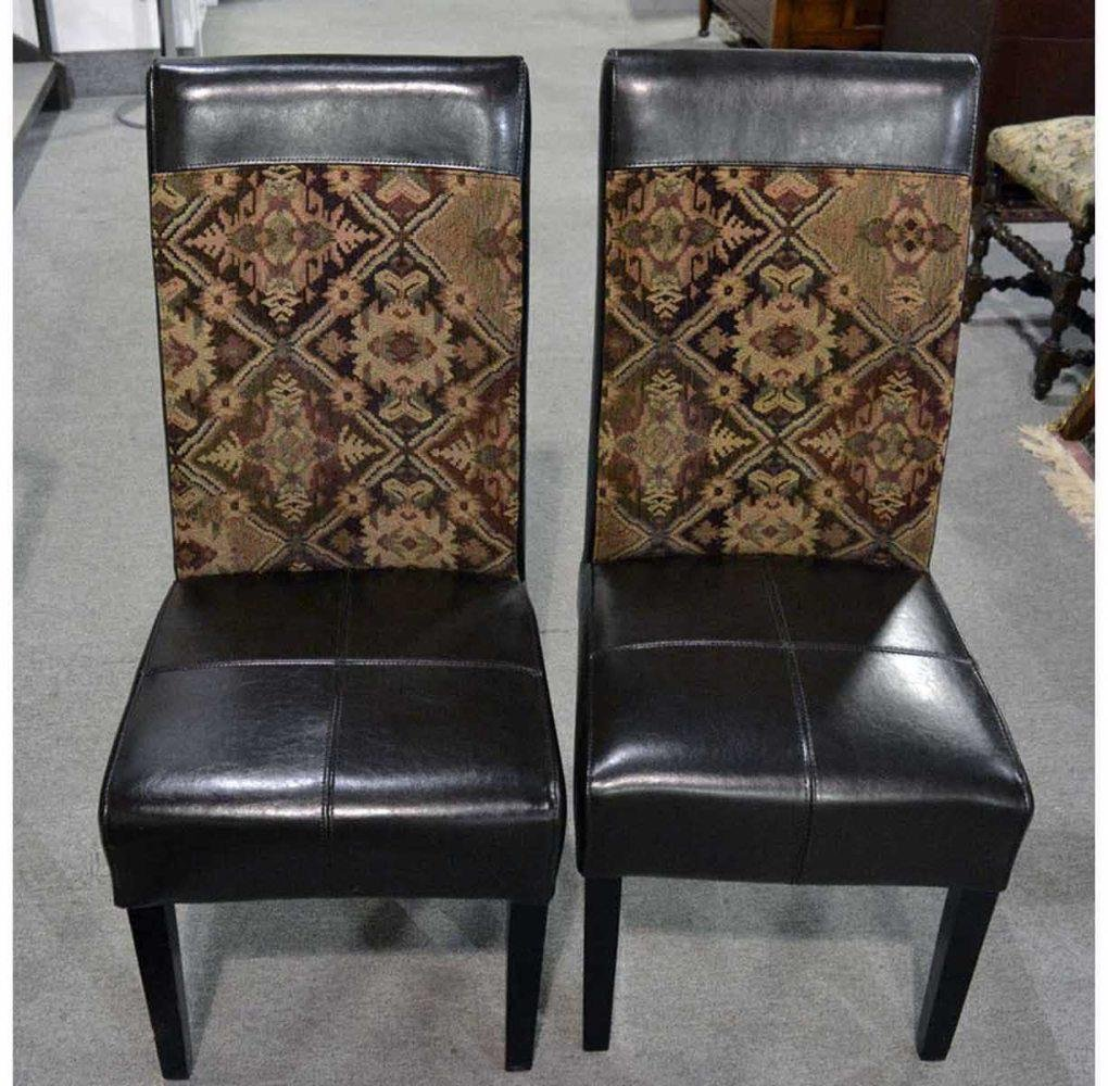 Set of 8 contemporary dining chairs