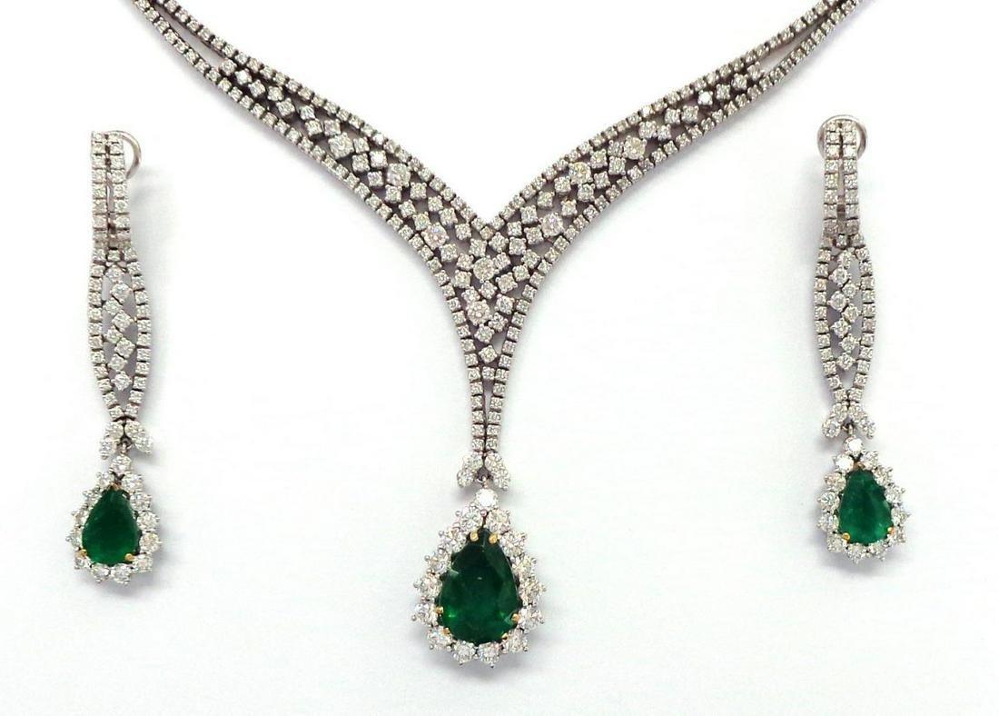 Emeralds 10.60 carats