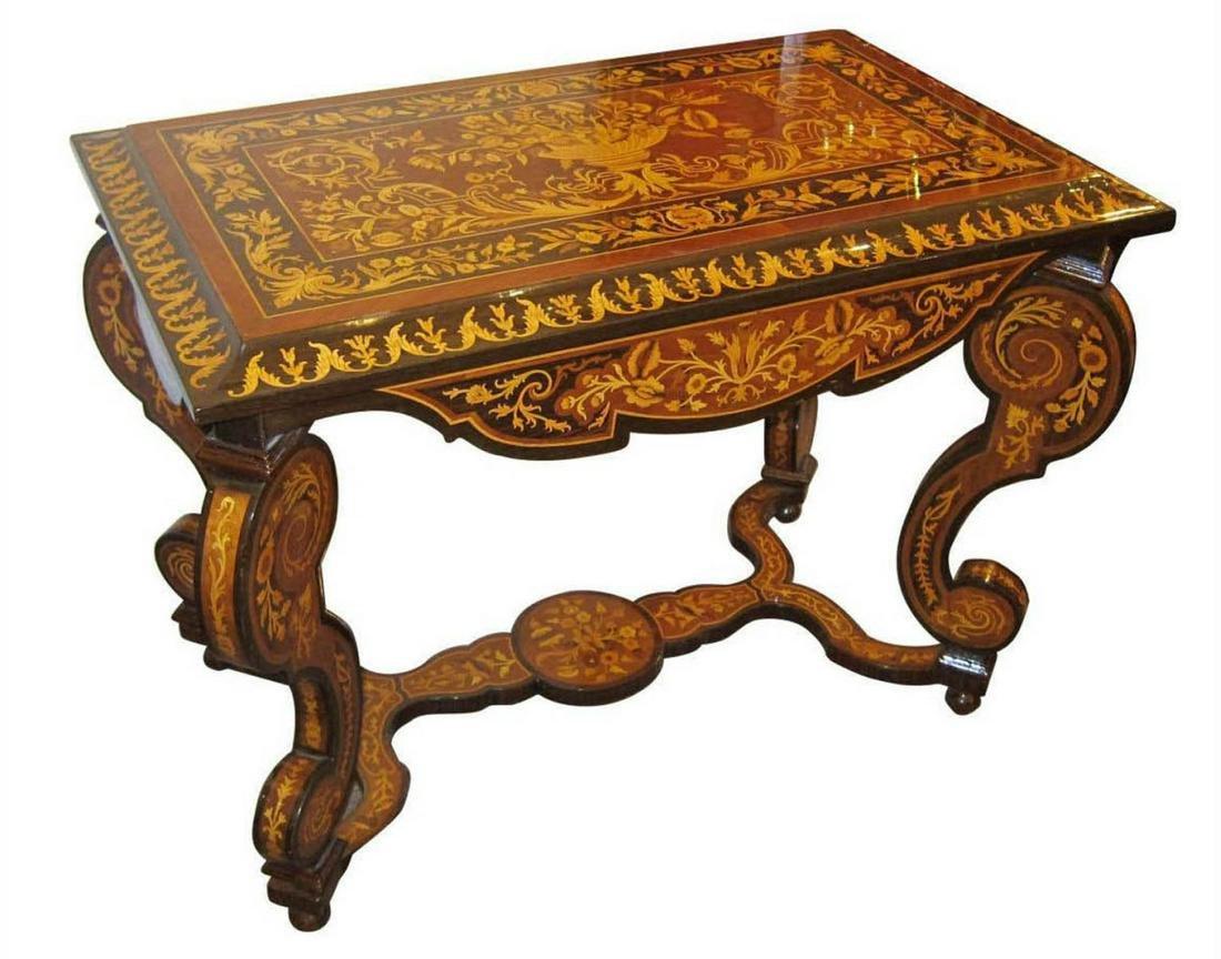 European salon table
