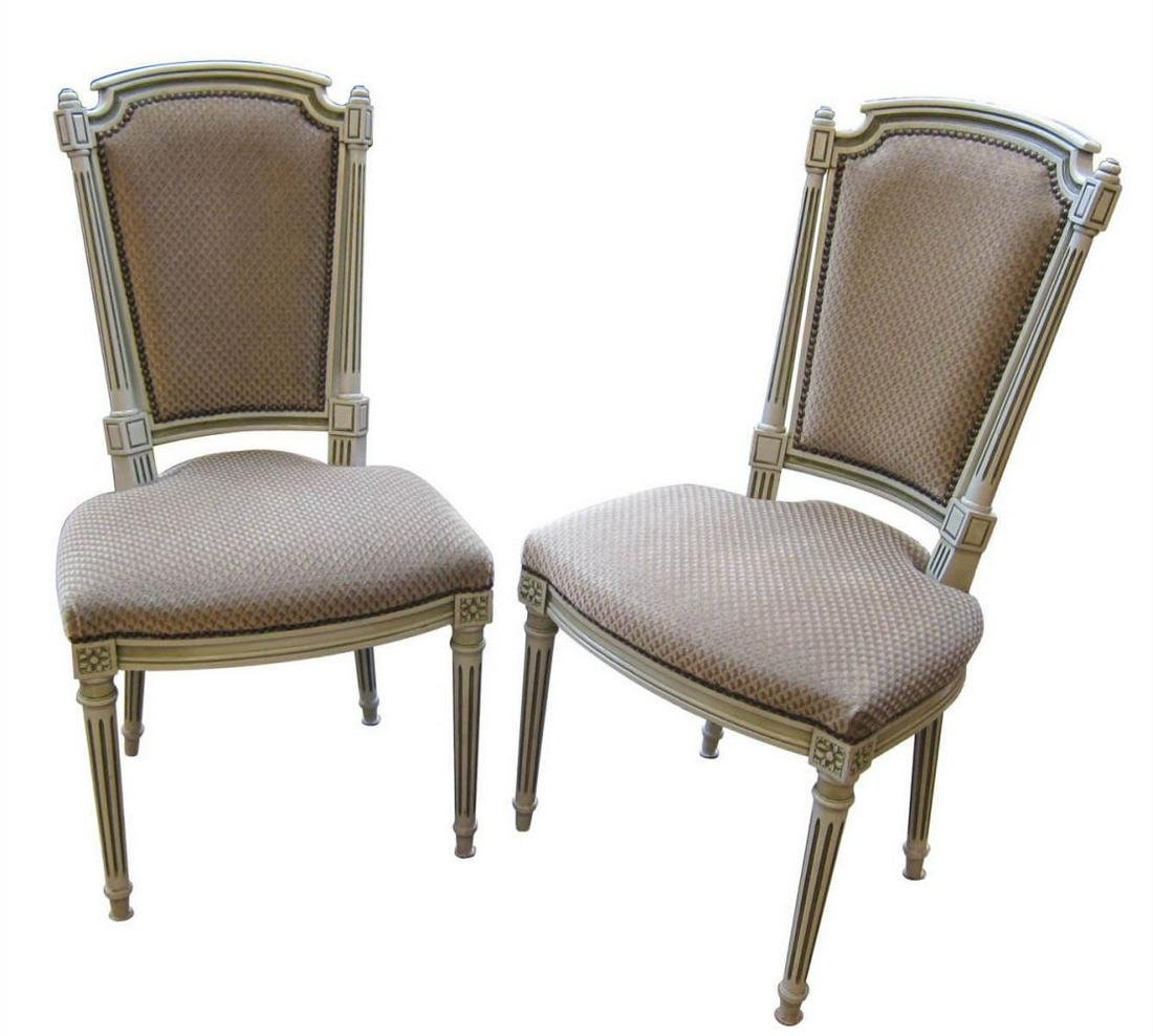 Louis XVI-style chairs