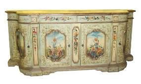 Venetian-style sideboard