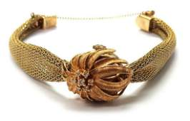 Ladys 14 kt gold Omega wristwatch