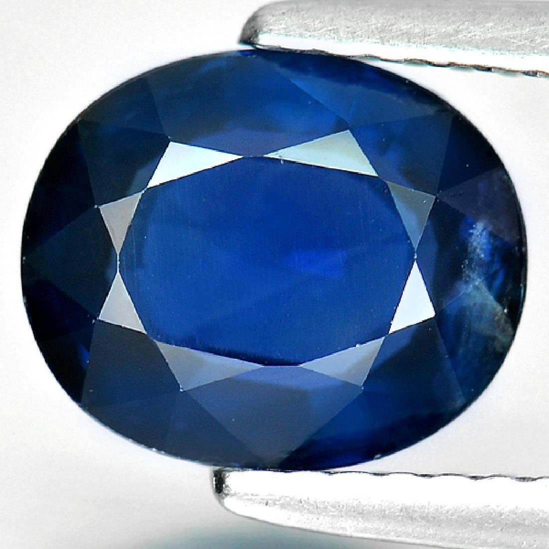 2.28 Ct. Natural Blue Sapphire From Madagascar