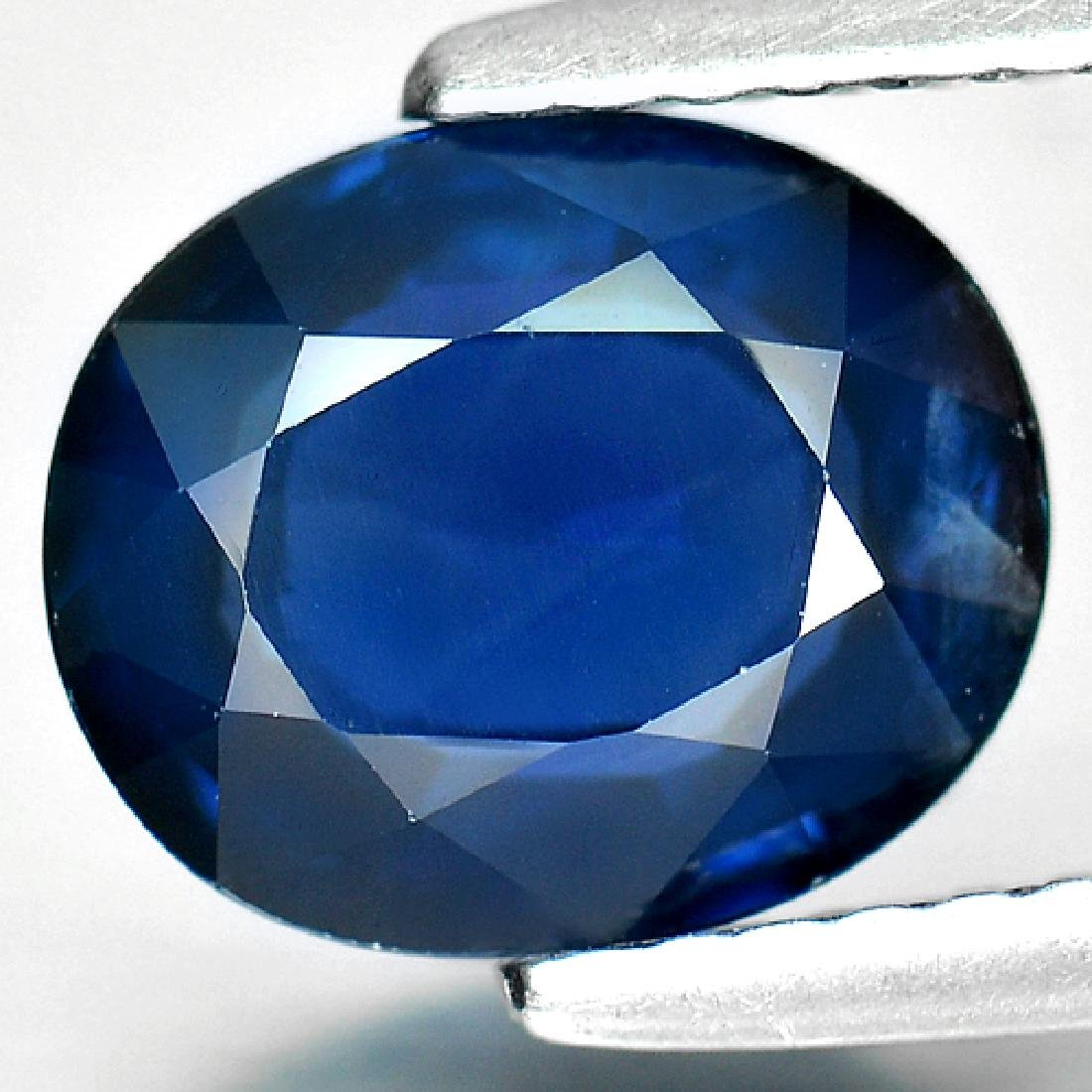 2.28 Ct. Natural Blue Sapphire From Madagascar - 2