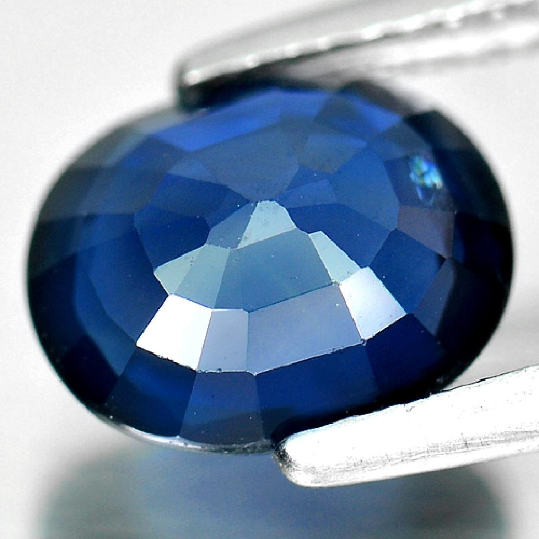 2.28 Ct. Natural Blue Sapphire From Madagascar - 3