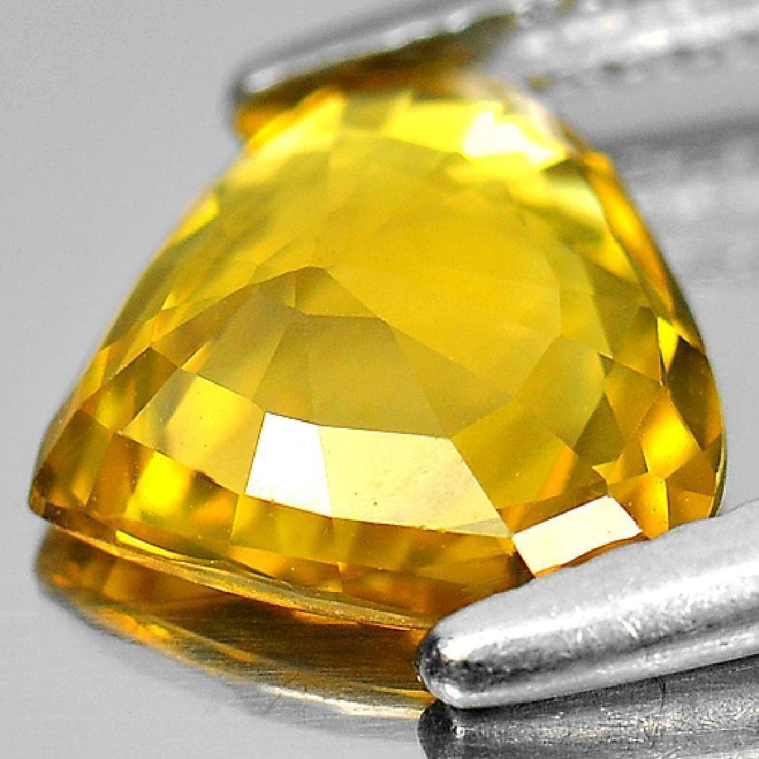 1.90 Ct Yellow Sapphire Pear Shape From Thailand - 3