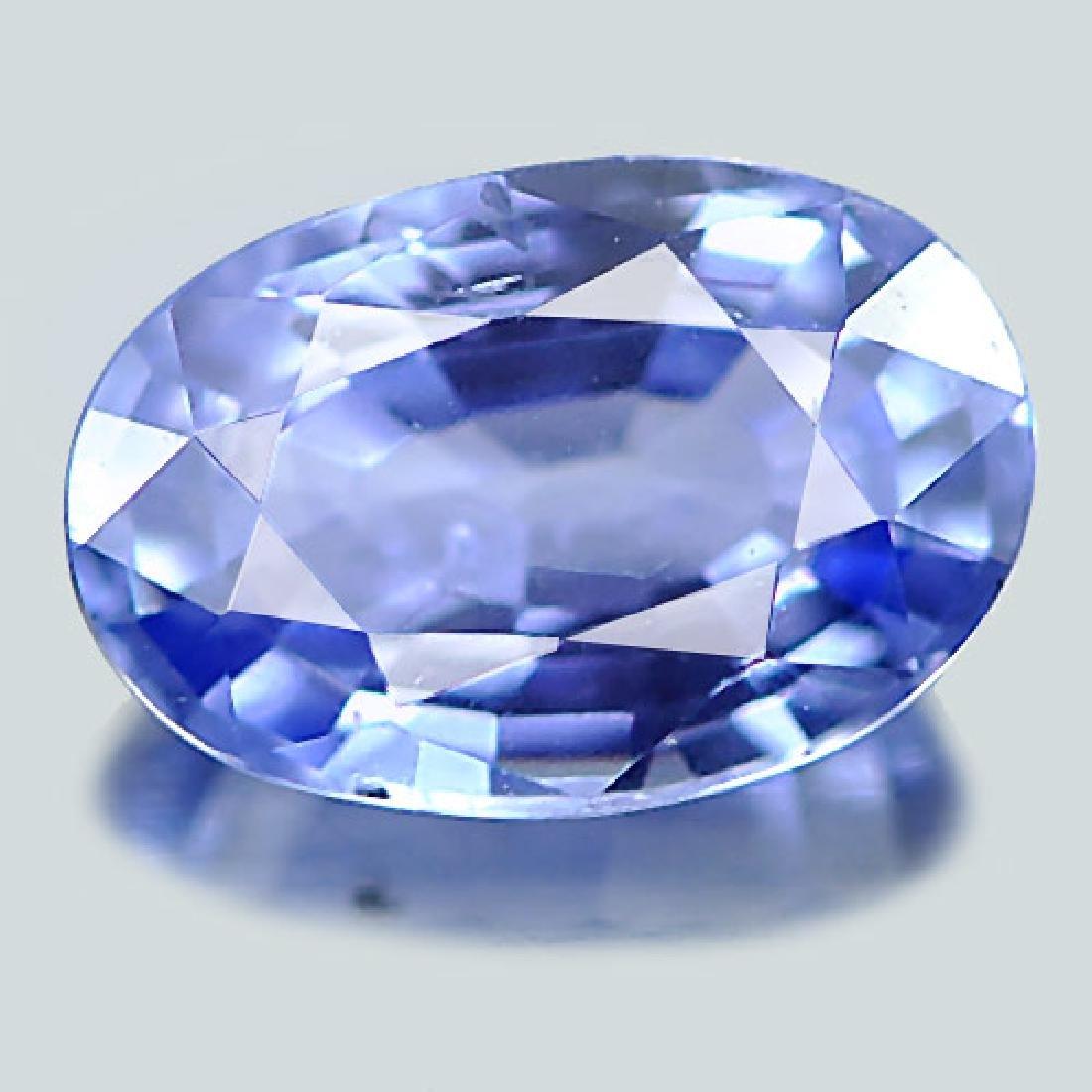 1.03 Ct. Natural Blue Ceylon Sapphire Oval Shape