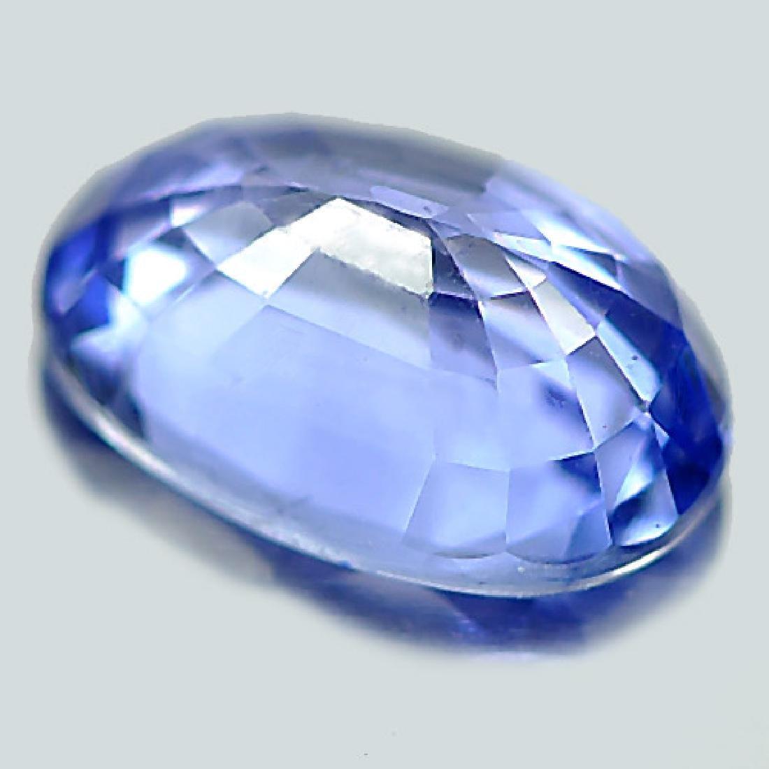 1.03 Ct. Natural Blue Ceylon Sapphire Oval Shape - 3