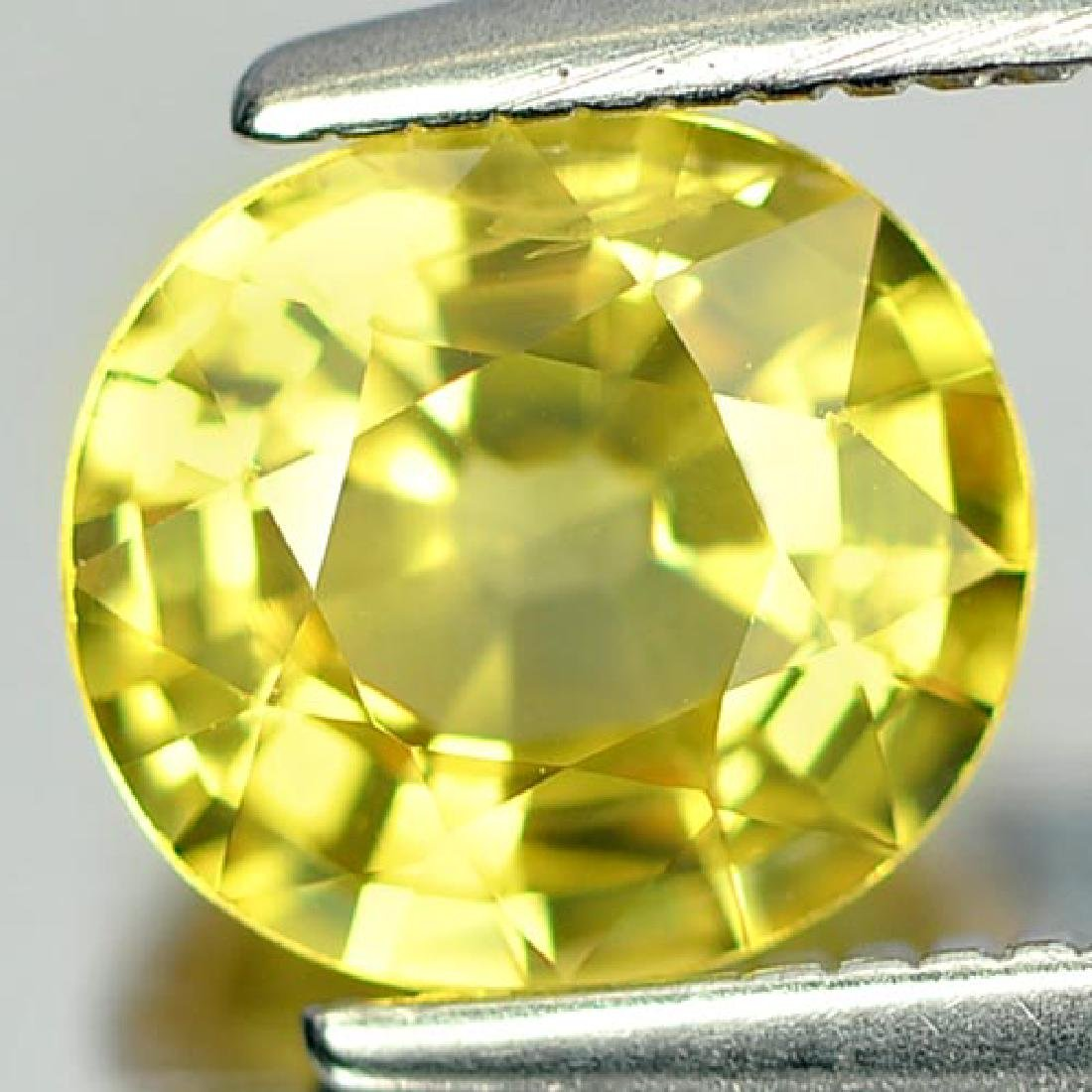 1.32 Ct. Oval Shape Natural Yellow Sapphire