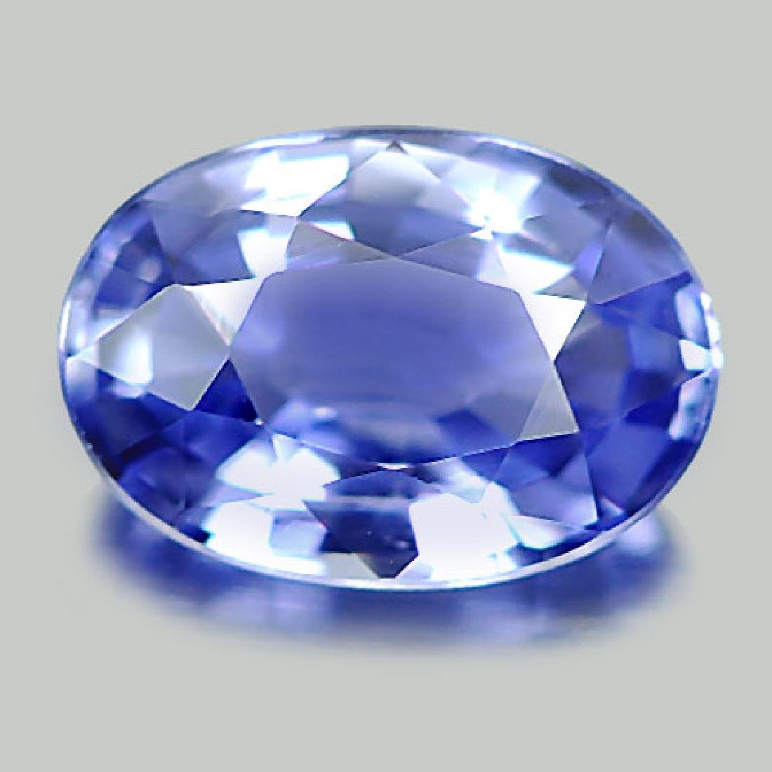 Delightful 1.06 Ct. Natural Blue Sapphire Oval Shape