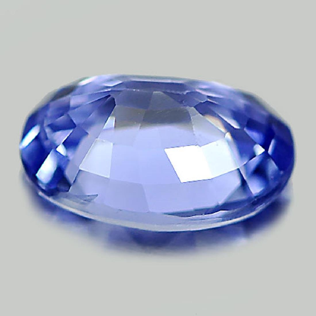 Delightful 1.06 Ct. Natural Blue Sapphire Oval Shape - 3
