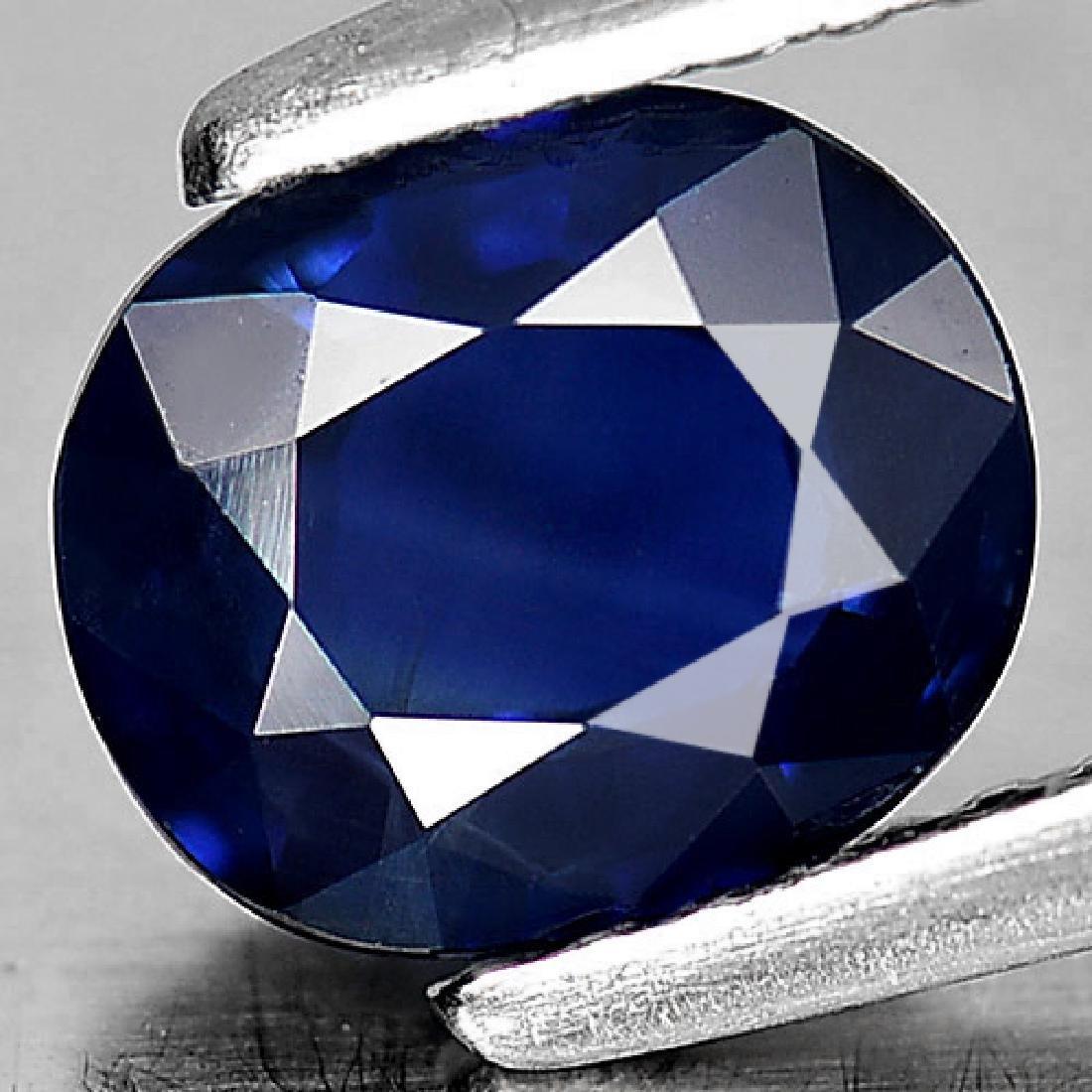Good Gemstone 1.42 Ct. Oval Shape Natural Blue Sapphire - 2