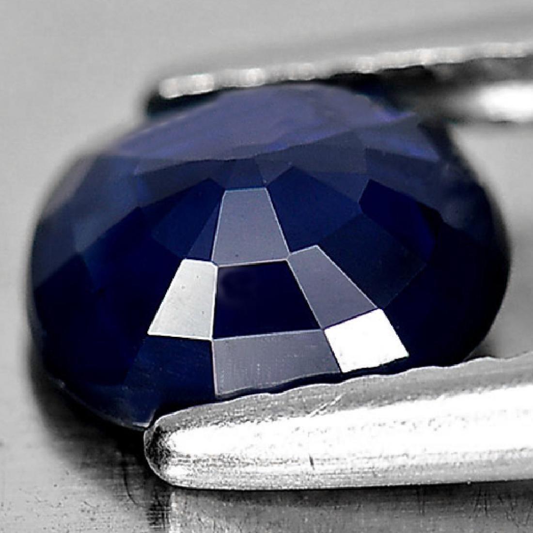 Good Gemstone 1.42 Ct. Oval Shape Natural Blue Sapphire - 3