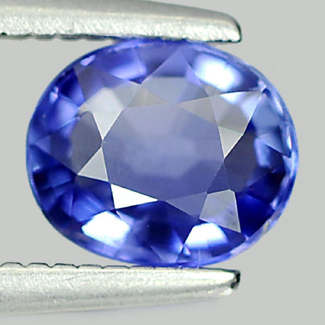 1.00 Ct. Oval Shape Natural Blue Sapphire