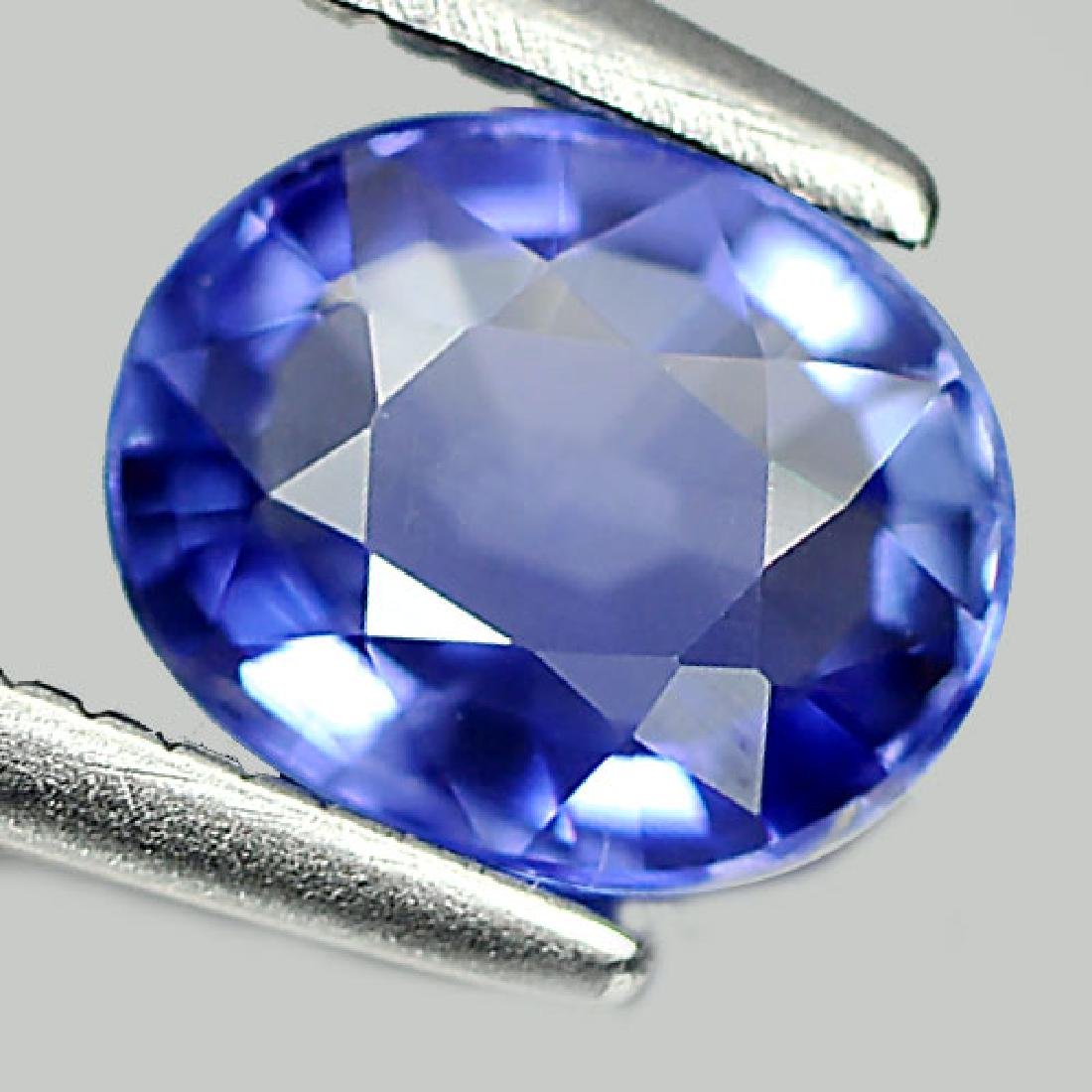 1.00 Ct. Oval Shape Natural Blue Sapphire - 2