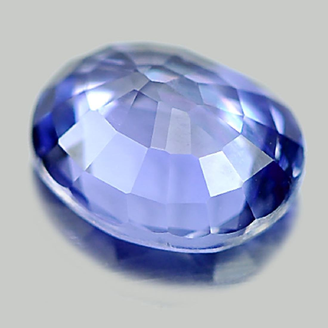 1.00 Ct. Oval Shape Natural Blue Sapphire - 3
