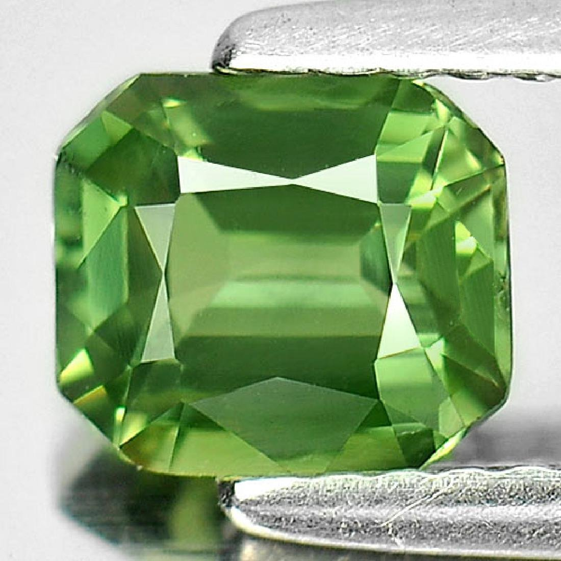 1.10 Ct. Clean Octagon Natural Green Sapphire