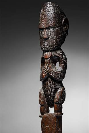 � Maori House Post figure