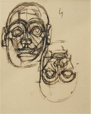 Alberto Giacometti (Swiss, 1901 - 1966)