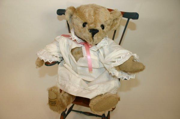 115: Merrythought White Ascot Bear