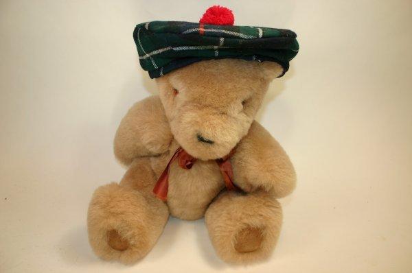 123: Scotland Bear w/ Beret