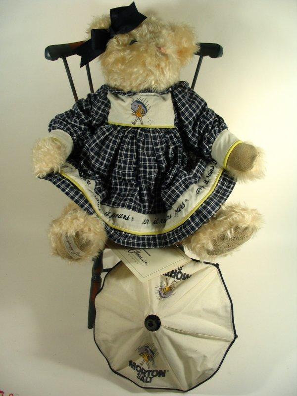 201: 1995 Morton Salt Bear W/ Umbrella Bear