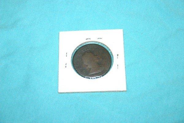 1003: 1723 Great Britain Half Penny - 2