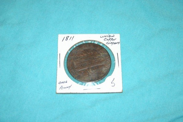 1005: 1811 Union Copper One Penny