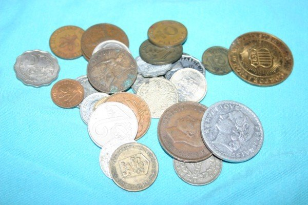 1008: Assorted Misc. Foreign Coins