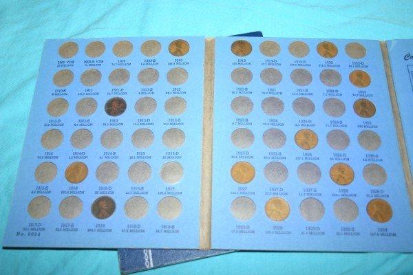 1012: Lincoln Cents Partial Set 1909-1940