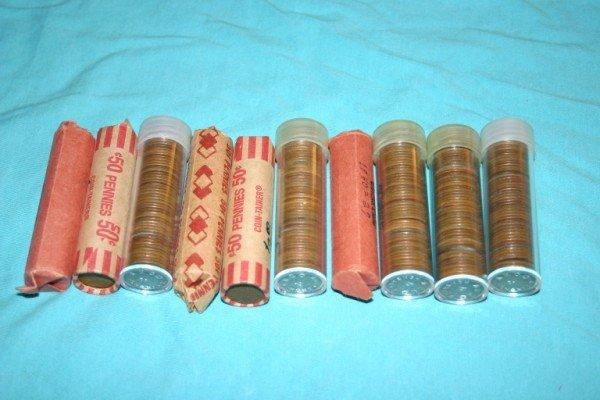 1015: 10 Rolls Wheat Pennies
