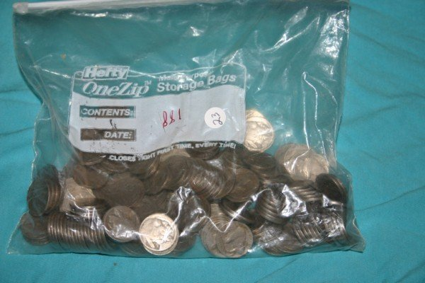 1023: Large lot partial or no date Buffalo Nickels