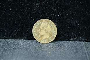 1854 5 Centimes Napolean III