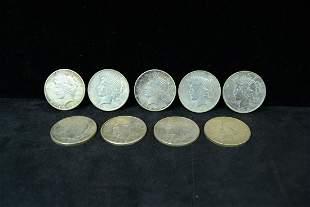 9 1923 Peace Dollar