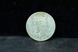 1928 Peace Dollar